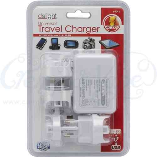 2.1A USB Travel AC Adapter