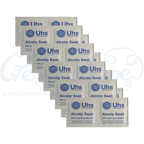 Pack of 20 Alcohol Wipes