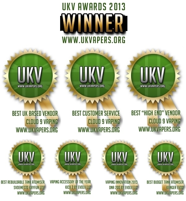 Read entire post: 2013 UKVapers.org Awards