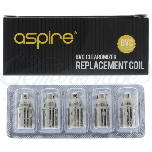 Aspire BVC heads - 5pk