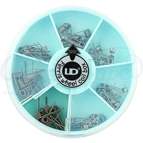 UD Ferris Wheel Pack of 70 Speciality pre-built coils
