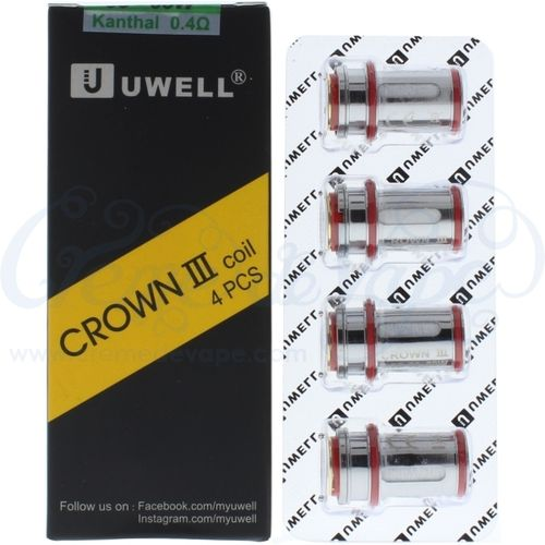 Uwell Crown 3 Heads - 4pk