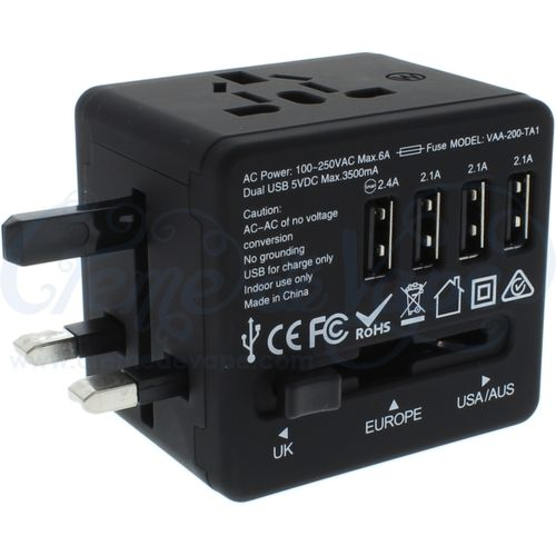 Veho TA-1 World Travel USB Plug adapter