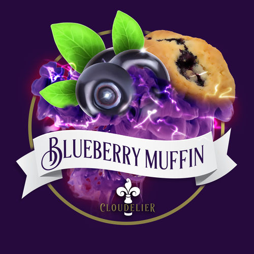 Blueberry Muffin by Cloudelier - 10ml