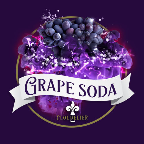 Grape Soda by Cloudelier - 10ml