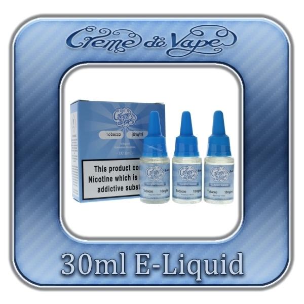 Creme de Vape Fruit Mix E-liquid 30ml
