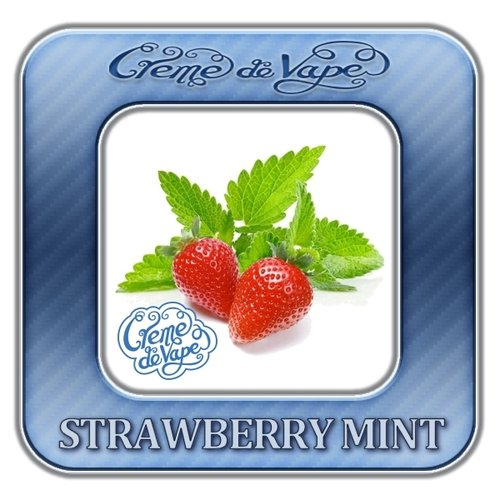 Strawberry Mint by Creme de Vape - 30ml