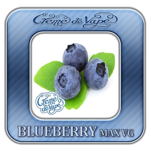Blueberry MAX VG by Creme de Vape - 30ml