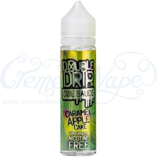Caramel Apple Cake by Double Drip - 50ml shortfill