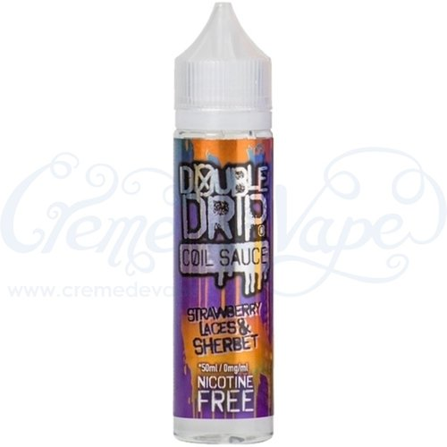 Strawberry Sherbet Laces by Double Drip - 50ml shortfill