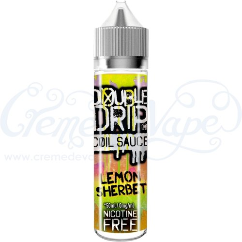 Lemon Sherbet by Double Drip - 50ml shortfill