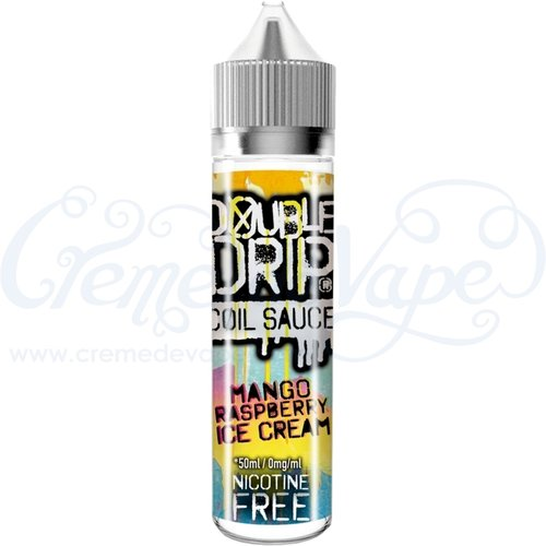 Mango Raspberry Ice Cream by Double Drip - 50ml shortfill