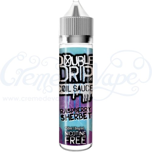 Raspberry Sherbet by Double Drip - 50ml shortfill