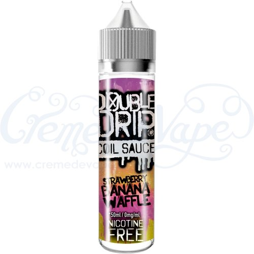 Strawberry Banana Waffle by Double Drip - 50ml shortfill