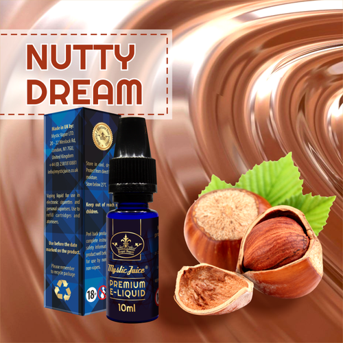 Nutty Dream by Mystic - 10ml