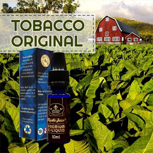 Original tobacco by Mystic - 10ml