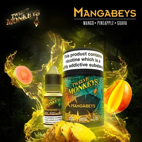 Mangabeys by Twelve Monkeys - 3x10ml
