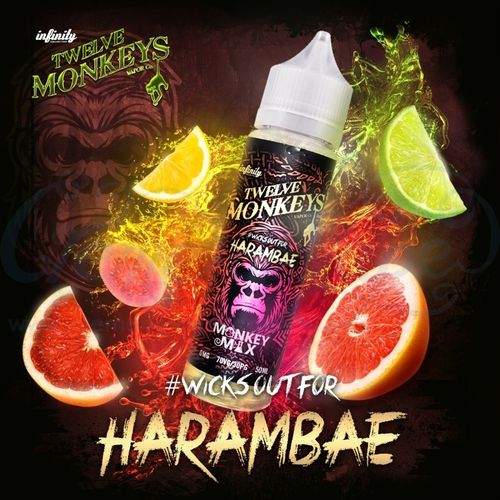 Harambae by Twelve Monkeys - 50ml Shortfill