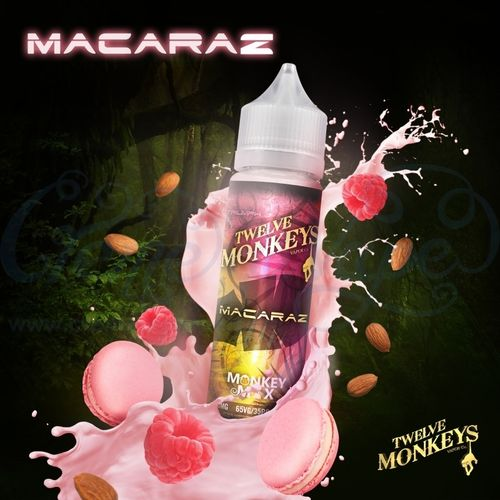 Macaraz by Twelve Monkeys - 50ml Shortfill