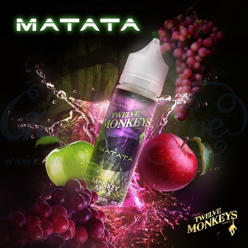 Matata by Twelve Monkeys - 50ml Shortfill