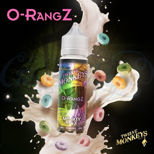 O-rangz by Twelve Monkeys - 50ml Shortfill