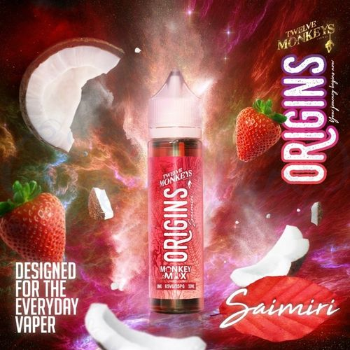 Saimiri by Twelve Monkeys - 50ml Shortfill