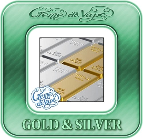 Gold & Silver Creme de Vape HS Essence - 50ml