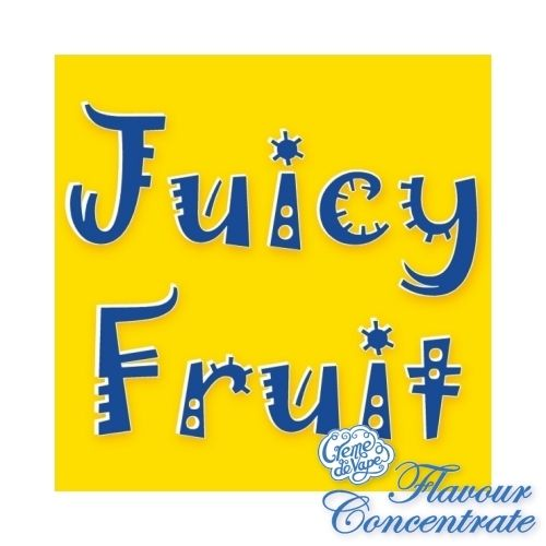 Juicy Fruit Flavour Concentrate - 10ml