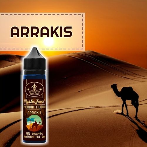 Arrakis by Mystic - 50ml Shortfill