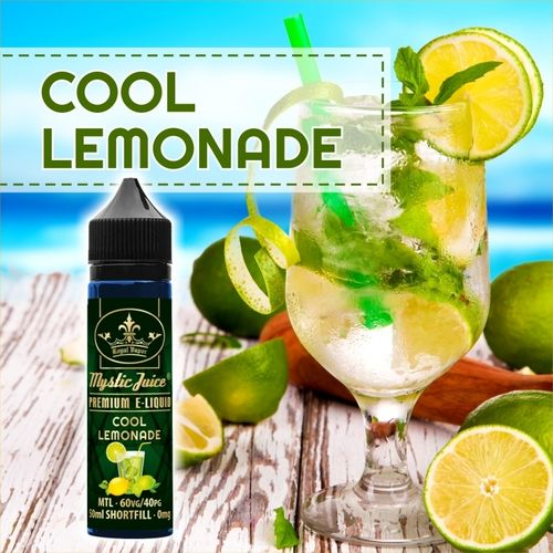 Cool Lemonade by Mystic - 50ml Shortfill