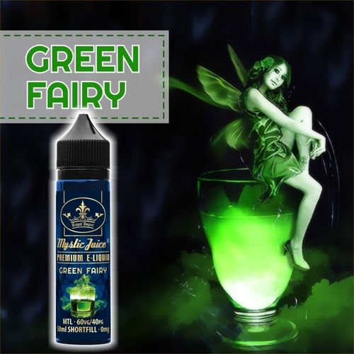 Green Fairy by Mystic - 50ml Shortfill