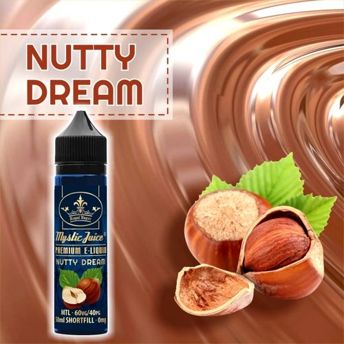 Nutty Dream by Mystic - 50ml Shortfill