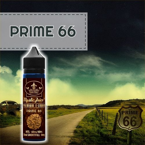 Prime 66 by Mystic - 50ml Shortfill
