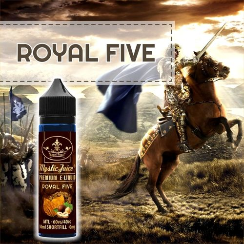 Royal Five by Mystic - 50ml Shortfill