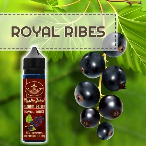 Royal Ribes by Mystic - 50ml Shortfill