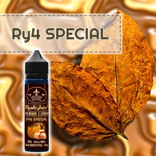 RY4 Special by Mystic - 50ml Shortfill