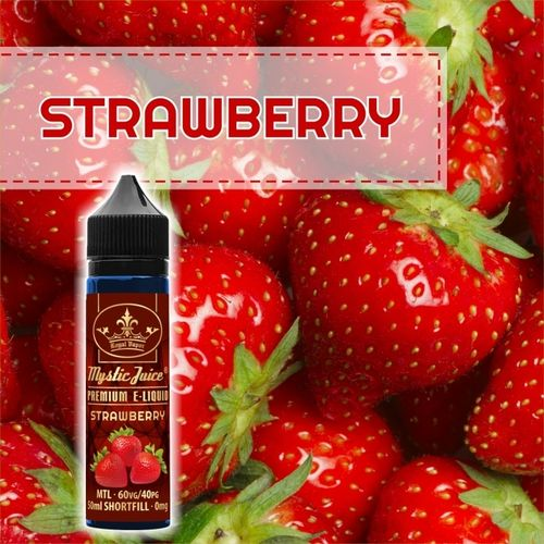 Strawberry by Mystic - 50ml Shortfill