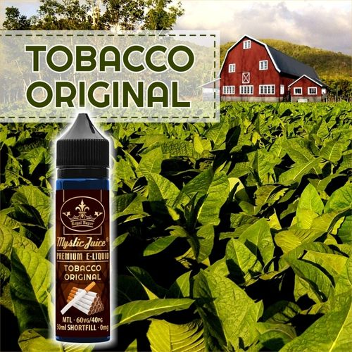 Original tobacco by Mystic - 50ml Shortfill