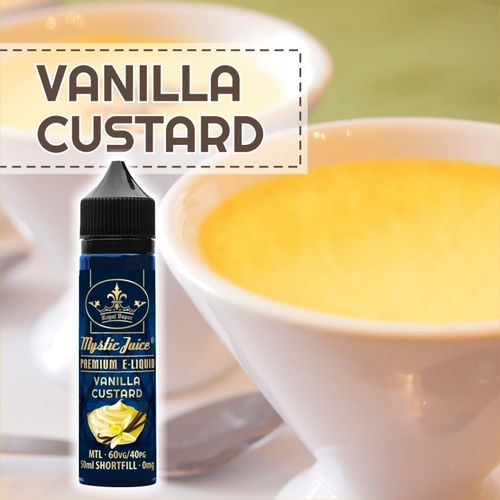 Vanilla Custard by Mystic - 50ml Shortfill