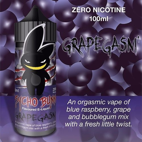 Grapegasm by Psycho Bunny - 100ml Shortfill