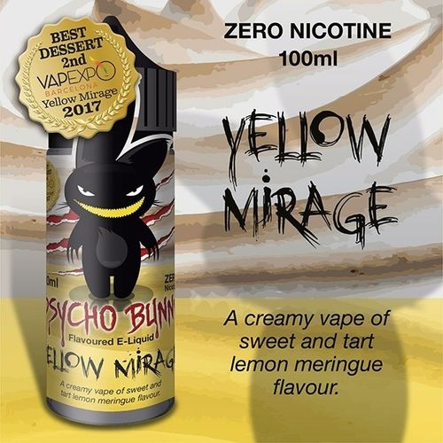 Yellow Mirage by Psycho Bunny - 100ml Shortfill