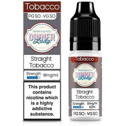 Straight Tobacco by Dinner Lady - 10ml