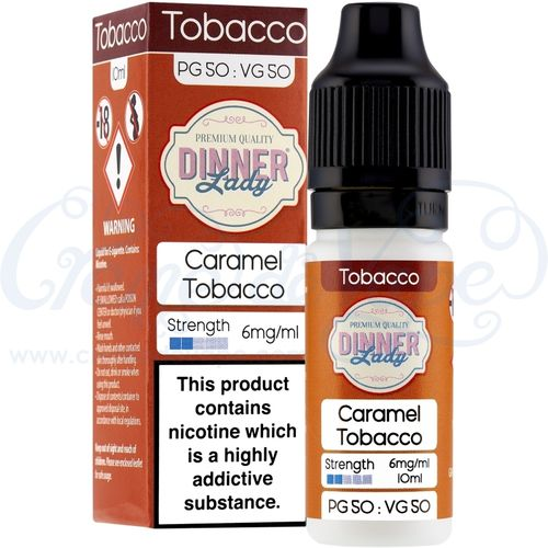 Caramel Tobacco by Dinner Lady - 10ml
