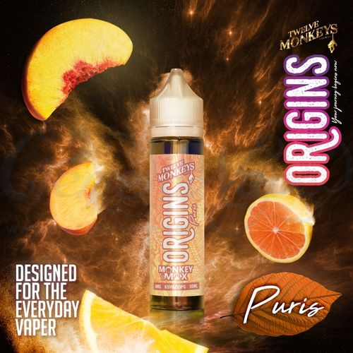 Puris by Twelve Monkeys - 50ml Shortfill