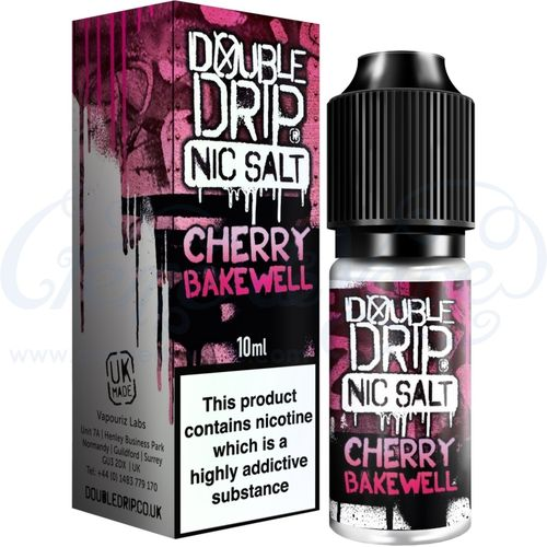 Cherry Bakewell Nic Salt by Double Drip - 10ml