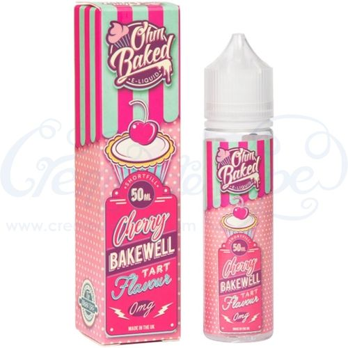 Cherry Bakewell by Ohm Baked - 50ml shortfill