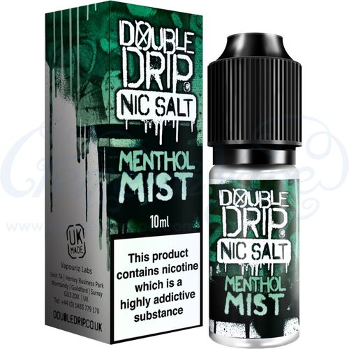Menthol Mist Nic Salt by Double Drip - 10ml