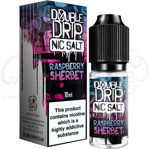 Raspberry Sherbet Nic Salt by Double Drip - 10ml