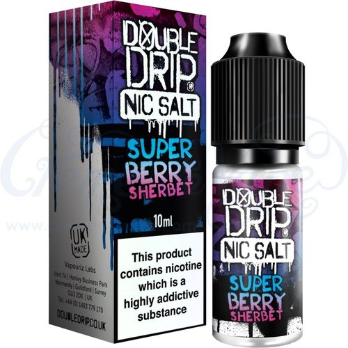 Super Berry Sherbet Nic Salt by Double Drip - 10ml