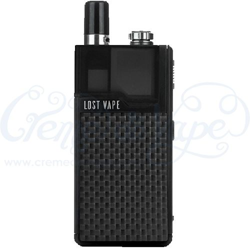 Lost Vape Orion DNA Go Pod Kit - Black/Carbon fibre